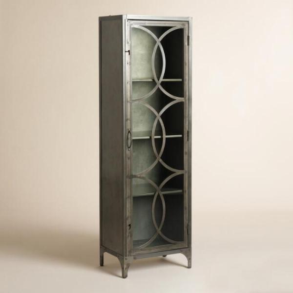 Металлический шкаф в стиле лофт 02