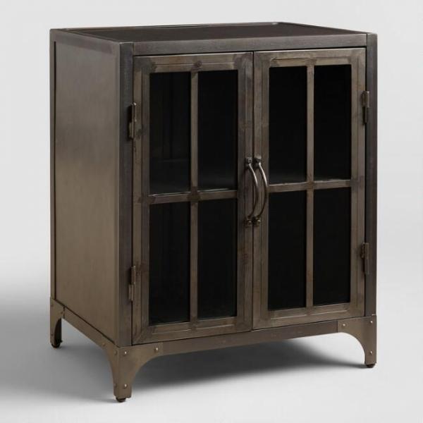 Металлический шкаф в стиле лофт 03