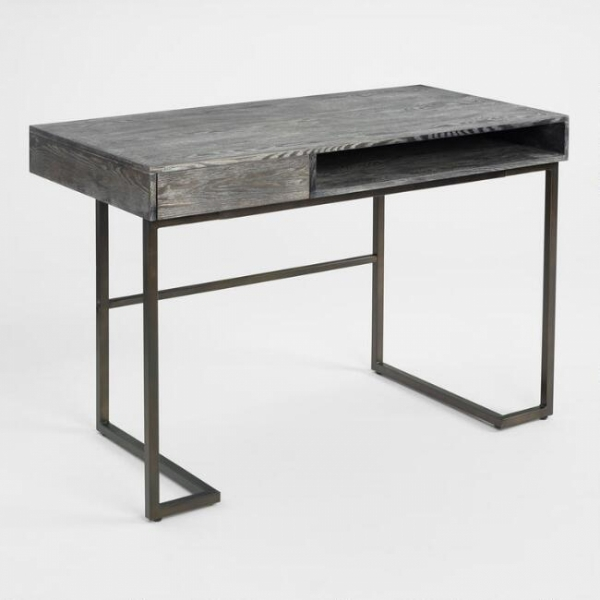 Стол в  индустриальном стиле лофт 09