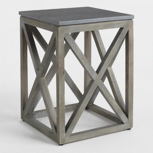 Столик в стиле industrial loft 04