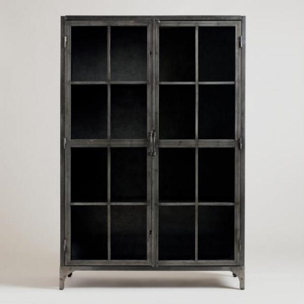 Металлический шкаф в стиле лофт