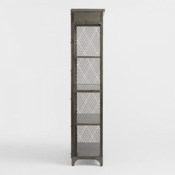 Шкаф с полками  Лофт 01