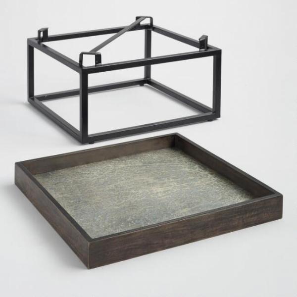 Столик в стиле industrial loft 05