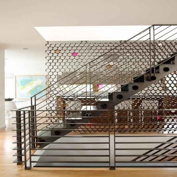 лестница  в стиле лофт 04