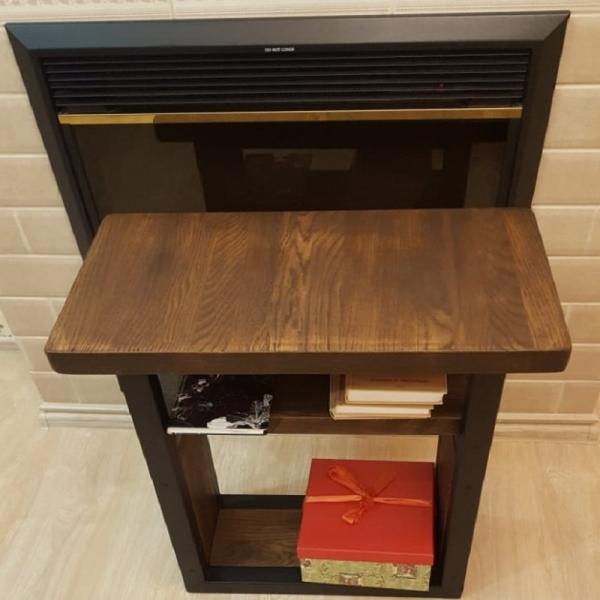 Журнальный столик  лофт из дуба